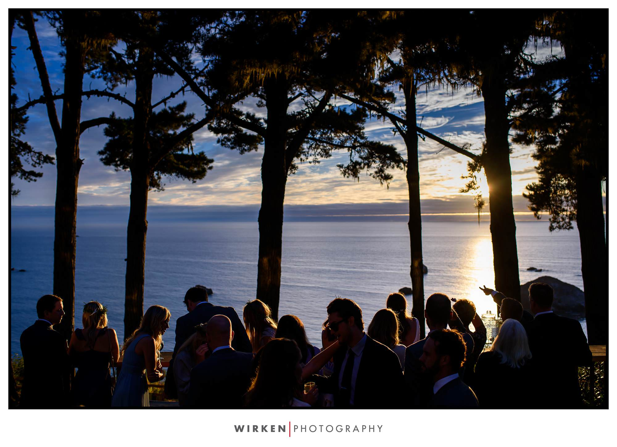 Lost Whale Bed and Breakfast wedding