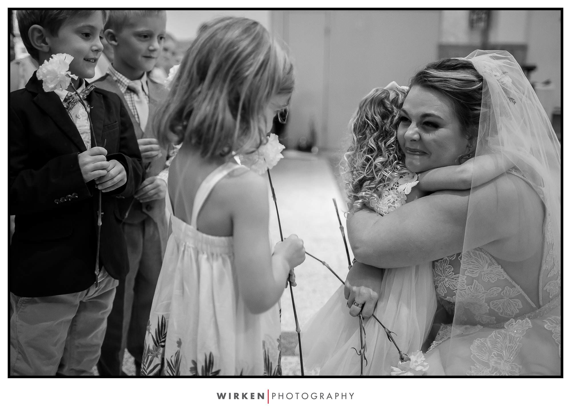 St. John's Parish wedding in Kansas City - teacher wedding