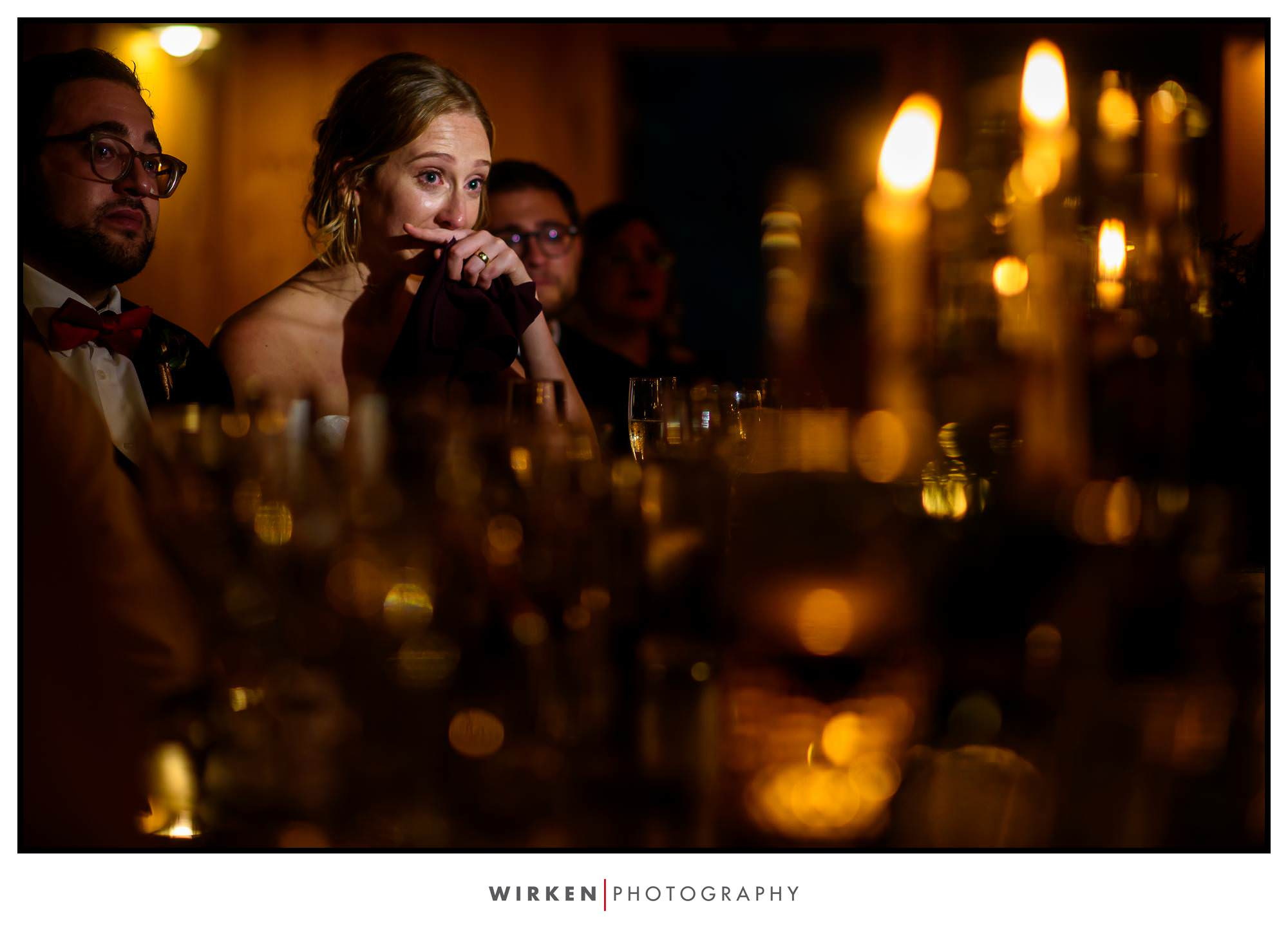 Claxton Farm Wedding toasts