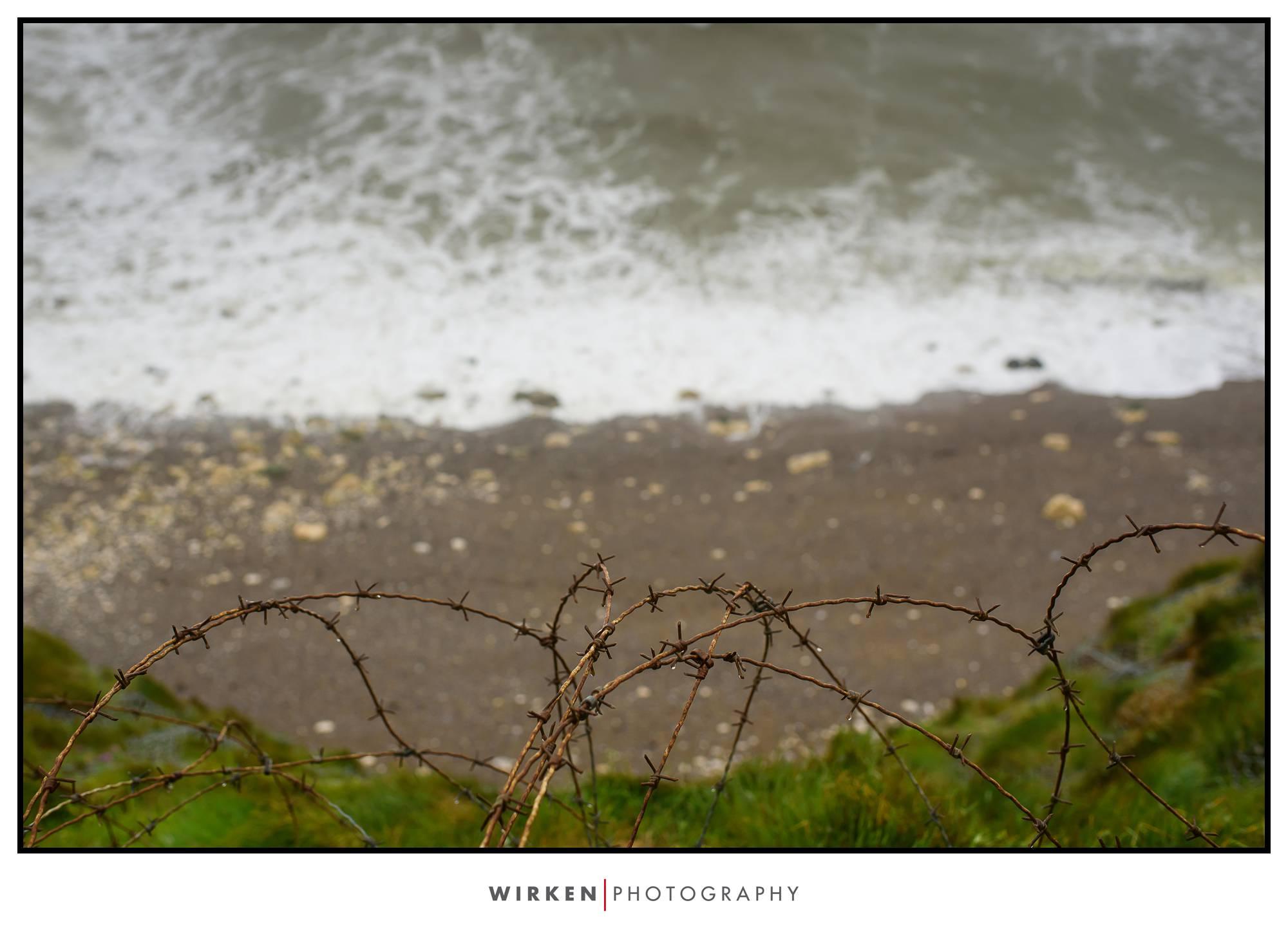 Omaha Beach France travel photography