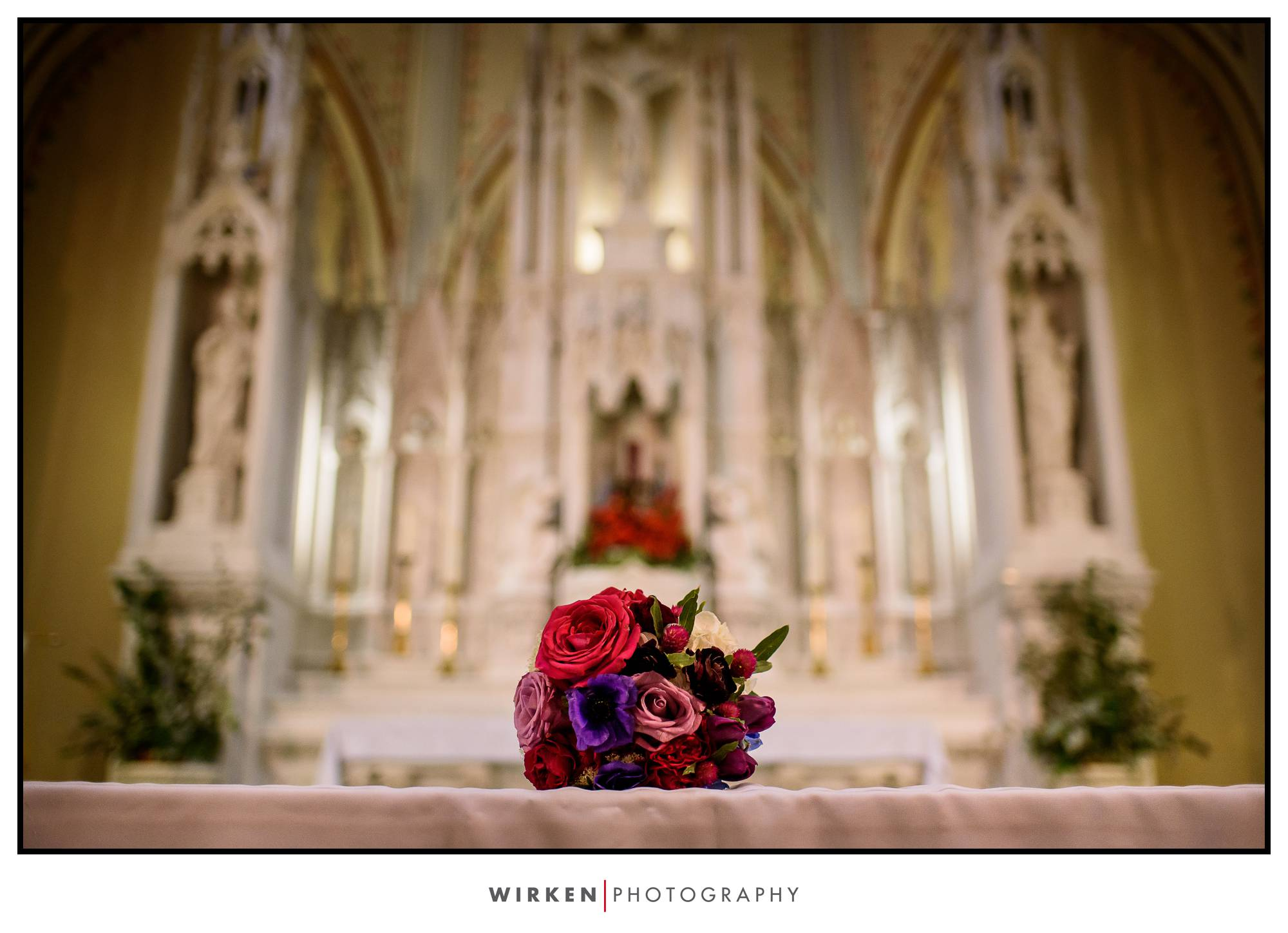 Redemptorist Church in Kansas City - Kansas City Wedding Photographer
