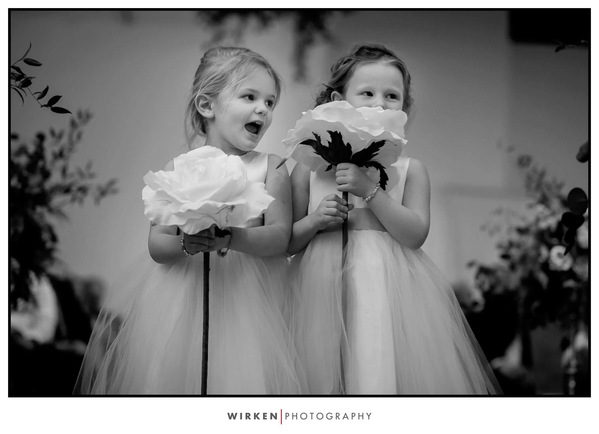 Kansas City flower girls at The Gallery Event Center