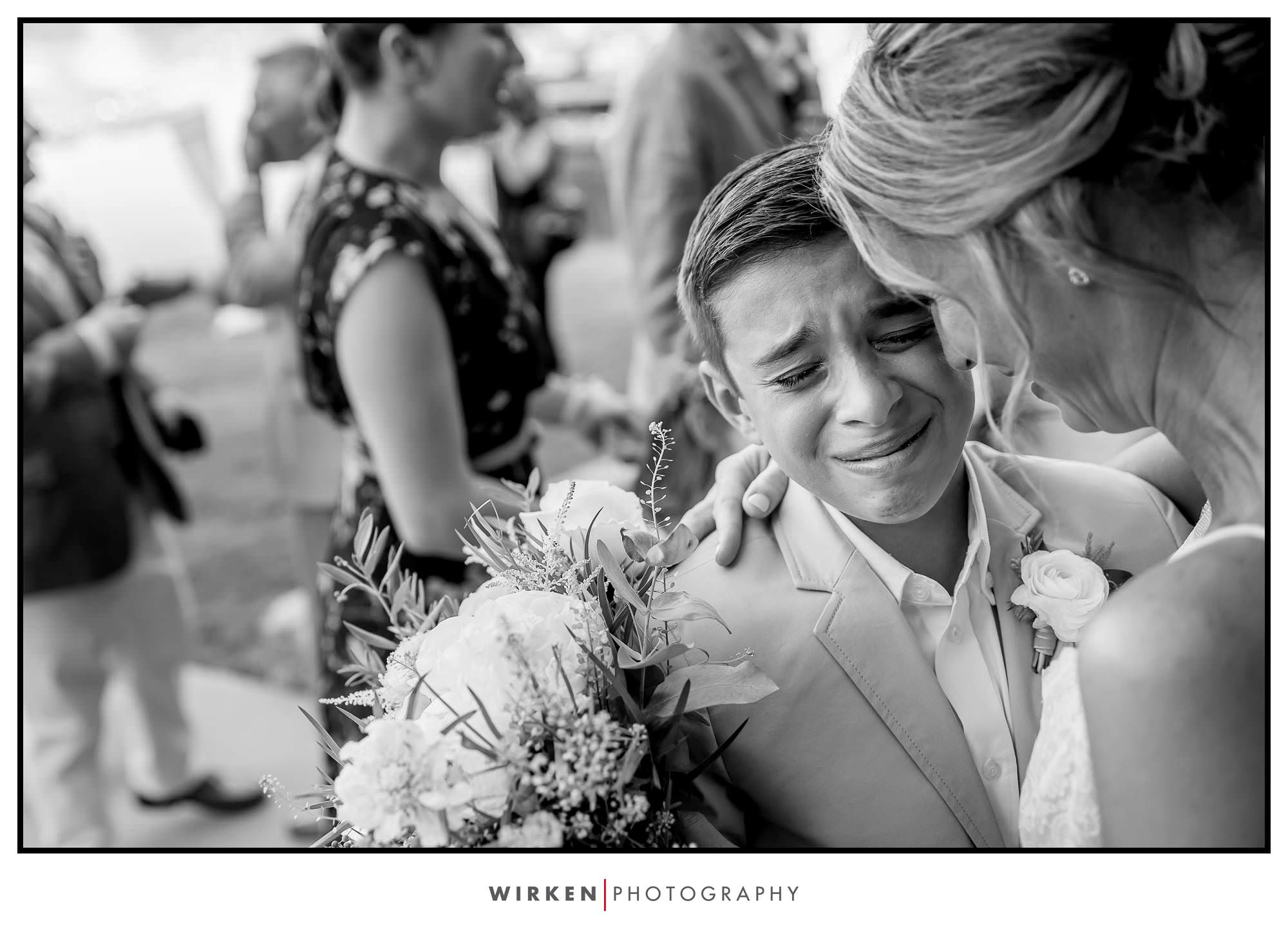 Lake wedding in Kansas City