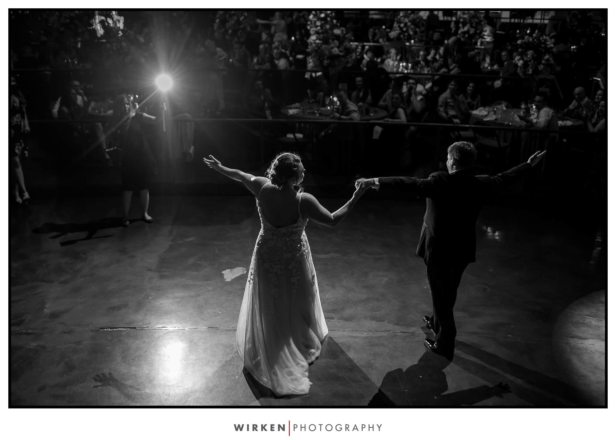 Midland Theatre wedding in Kansas City reception first dance