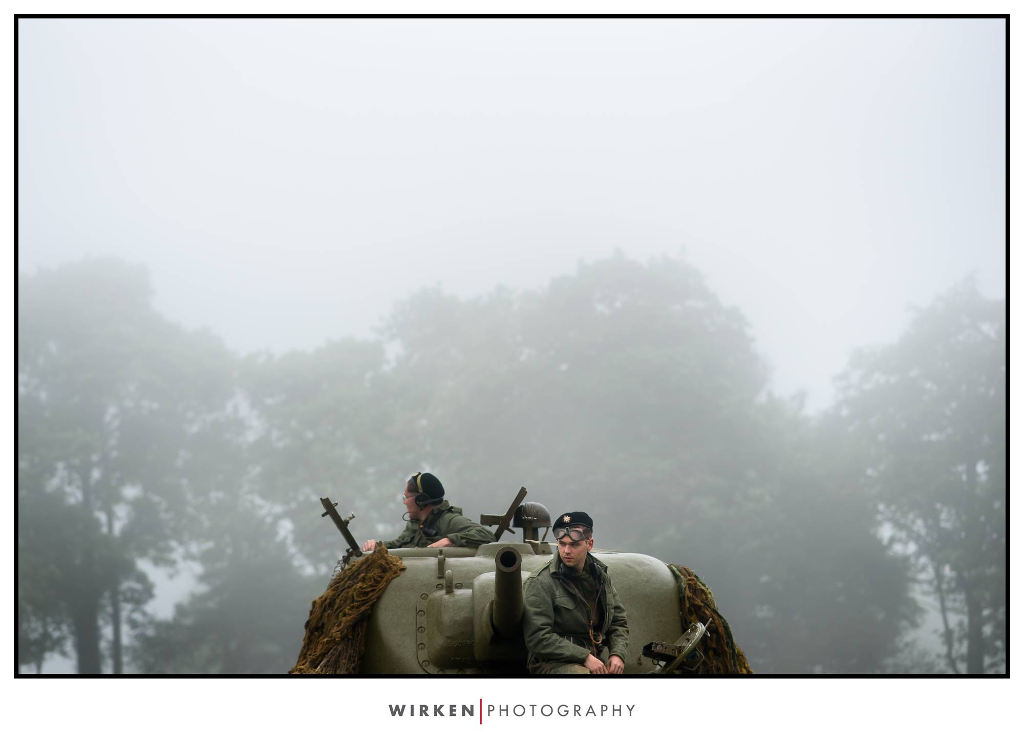 WWII reinactment photography in France 2018