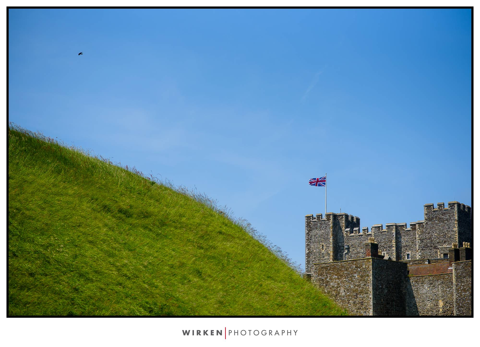 Dover Castle France travel photography